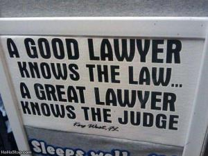 A Good Lawyer Great Lawyer
